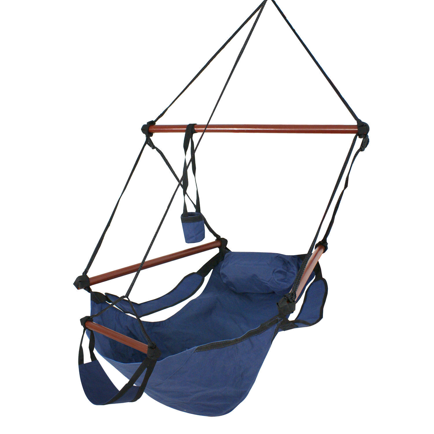 hanging chair wood brown dining room covers new deluxe hammock air sky indoor outdoor