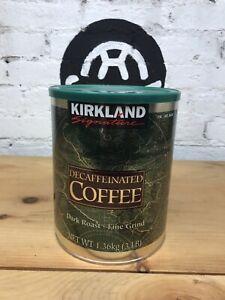 Kirkland Signature Decaffeinated Coffee. Dark Roast 3 Pounds Best By (1/15/22) 96619462421 | eBay