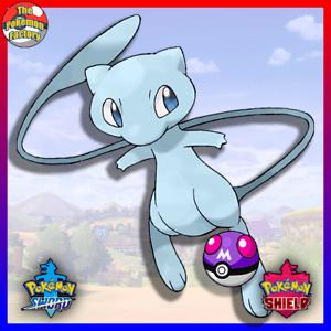 Pokemon Sword & Shield - Shiny Mew - 6IV - LEGIT + Master Ball   eBay