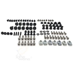 Complete Fairing Bolt Kit Body Bolts Stainless For Suzuki