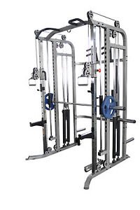 Commercial Power Rack Multi Power Cage Pull Ups Smith
