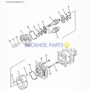 Komatsu Wheel Loader WA600-1-A Hydraulic Pump 705-56-44000