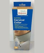 walgreens adjustable cervical neck collar soft touch one size