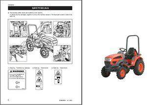 Kioti CK20 CH20 CK20J CK20H CK20HJ Tractor Repair Service