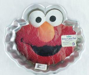 Wilton Sesame Street Elmo Cake Pan Mold 2105 3461 2002 Euc