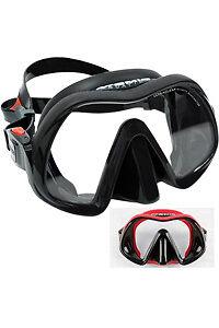 Atomic Venom Frameless Scuba Dive Mask Black/Red - Grey/Black   eBay