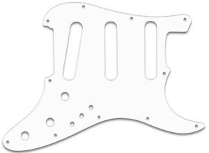 ELITE 1983-84 WHITE PICKGUARD f. FENDER® STRATOCASTER