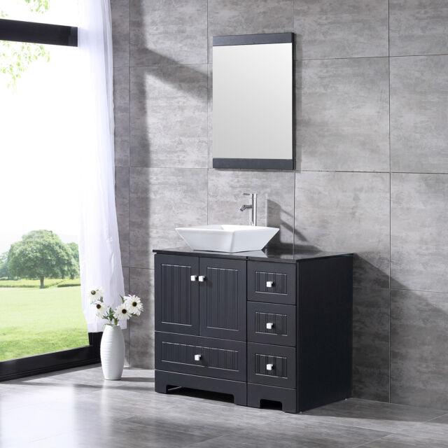 Royal Purple Bath Kitchen Kapp Floor Mount 36 Single Bathroom Vanity Set For Sale Online Ebay