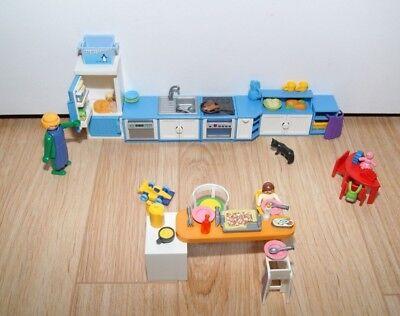 rouge cuisine 5329 maison moderne playmobil