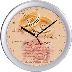 Geschenk zur Goldenen Hochzeit Goldhochzeit Goldene