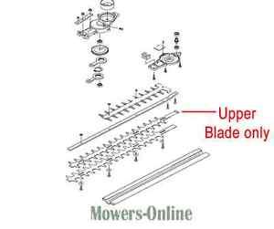 Kawasaki KHD600A KHD600B Hedge Cutter Trimmer Upper Blade