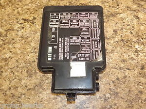9600 USDM Honda Civic EK EK4 EK9 S01 engine bay fuse box