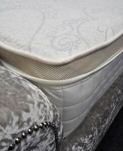 Image Is Loading Best Luxury Linen 4ft6 Double 3000 Pocket Sprung
