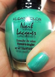 teal nail polish - 1pc kleancolor