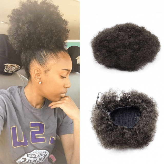 Vgte Beauty Synthetic Curly Hair Ponytail African American Short