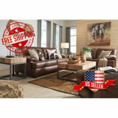 Ashley Leather Sofas And Loveseats Sofa Recliners On Sale Furniture Mindaro Loveseat W Plush Pillows 1550238