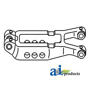 A-1863393M92 Massey Ferguson Parts BEAM CENTER LINK 135