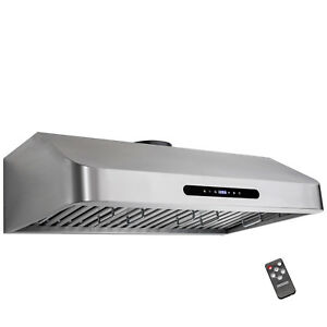 kitchen fan wall paper borders for kitchens cooking range hood 30 stainless steel ebay