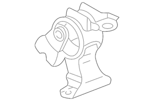 Genuine Rubber Assembly Transmission Mounting (AT