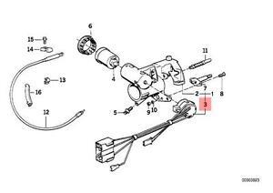 Genuine BMW E30 Cabrio Coupe Sedan Wagon Ignition Lock