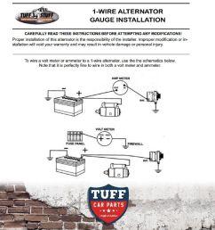tuff stuff alternator wiring diagram [ 1600 x 1600 Pixel ]