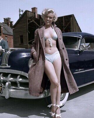 Marilyn Monroe Car : marilyn, monroe, Marilyn, Monroe, Bikini, Pontiac, Chieftain
