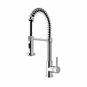 vigo kitchen faucet painting cabinets industries vg02001ch chrome pull out spray ebay