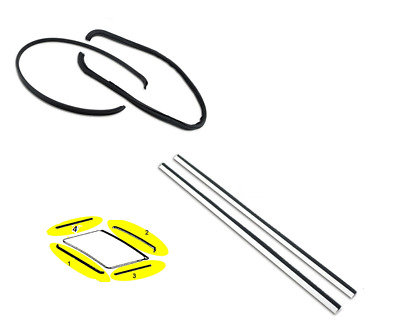 SUNROOF RUBBER SEAL GASKET KIT-Mercedes Benz W108/109-W209