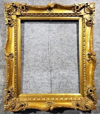 4 gold vintage antique fine hand carved picture frame frames4art 1178g 16x20 ebay