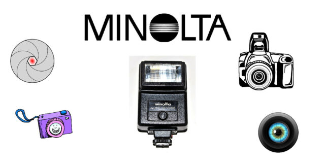 VINTAGE. MINOLTA AUTO 200X ELECTRONIC SHOE MOUNT CAMERA