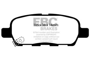 EBC for 03-05 Infiniti FX35 3.5 Ultimax2 Rear Brake Pads