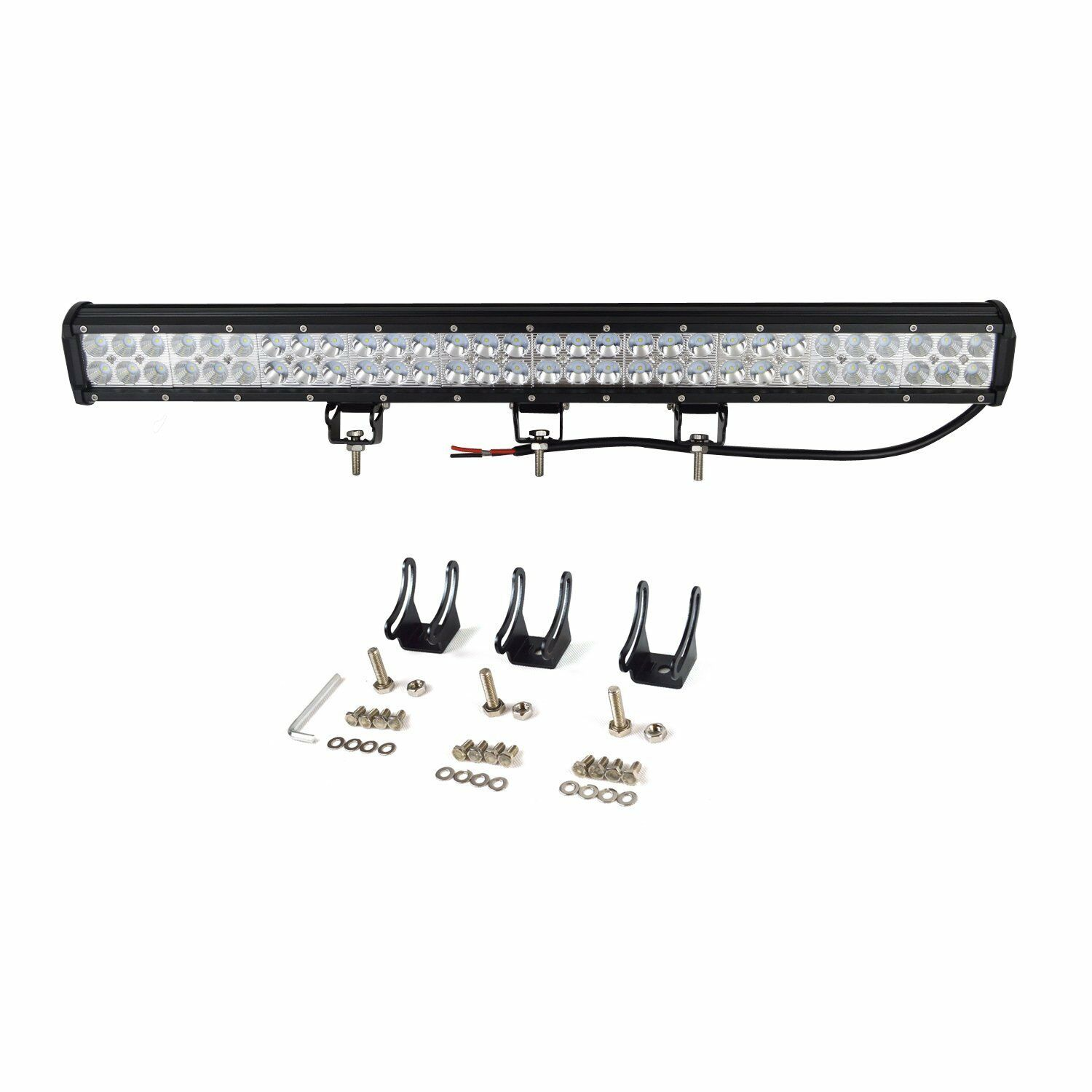 28inch Cree Led Work Light Bar For Truck Car Atv Suv 4x4