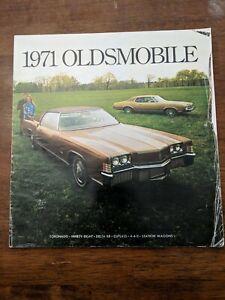 1971 Oldsmobile Delta 88 : oldsmobile, delta, Oldsmobile, Dealer, Sales, Brochure, Torinado, 4-4-2, Cutlass, Delta
