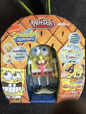 Spongebob Play-doh : spongebob, play-doh, Spongebob, Squarepants, Silly, Faces, Nickelodeon, Anniversary