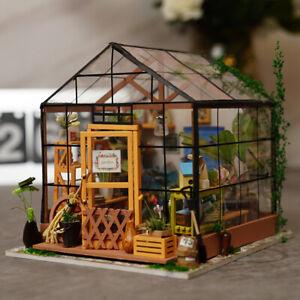 rolife diy wooden dollhouse fairy