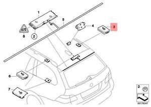 Genuine BMW E61 E61N Wagon Antenna Supression Filter