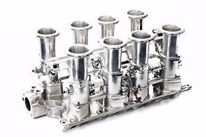 SBF 351W Polished Aluminum EFI Fuel Injection Hilborn