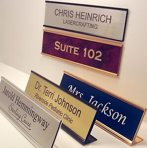 details about name plate