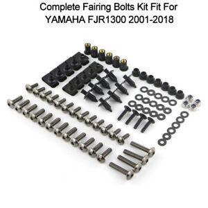 Complete Fairing Bolts Bodywork Screws Kit For 2001-2018