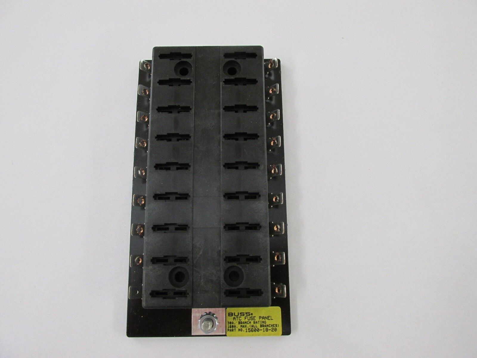 hight resolution of mod bussmann 15600 18 20 18 position atc fuse panel block rv trailer boat solar for sale online ebay