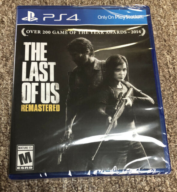The Last of Us Remastered Game (Sony PlayStation 4, 2014) PS4 Black Label, New   eBay