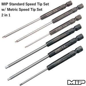 MIP 9511+9512 Standard Speed Tip Set w/ Metric Speed Tip