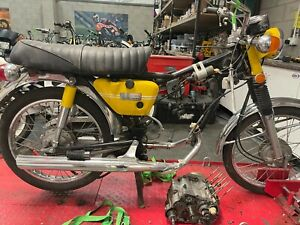Yamaha HS1 90 2 Stroke 1970 Barn Find Restoration Project Spares or Repair