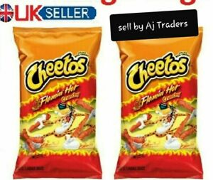 Cheetos Crunchy Flamin Hot LARGE 8oz/226g Bags American ...