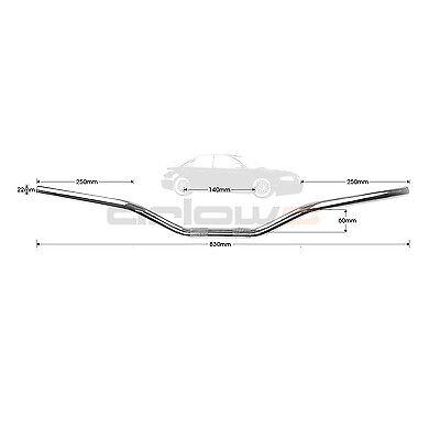 22mm Stahl Superbike Lenker Suzuki Bandit 600 900 1200 B