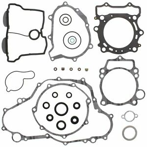 Yamaha YZ400F, 1998-1999, Complete Gasket Set with Seals
