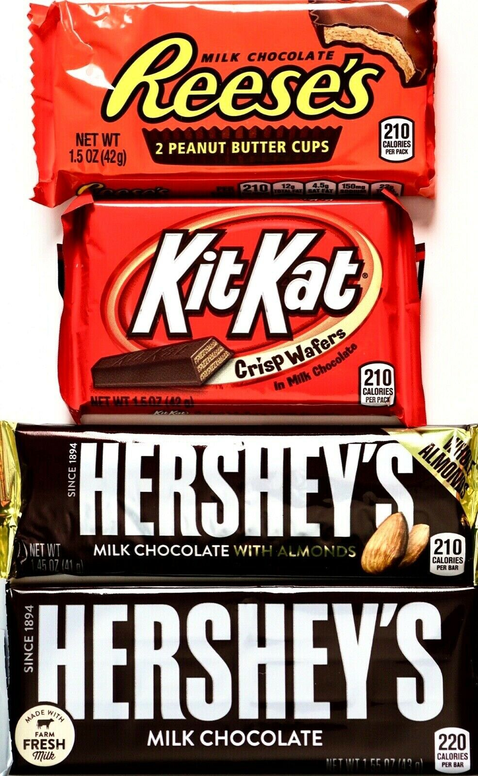 Fun Size Kit Kat Calories : calories, Reese'S, Halloween, Assorted, Snack, Candy,, Chocolate,, Online