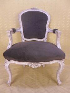 details sur fauteuil cabriolet louis xv rocaille brocantic antiquites brocante occasion