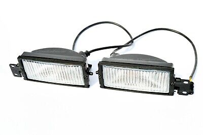 BMW E28 Euro fog lights foglights with brackets NEW OEM