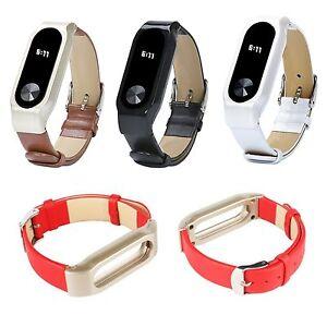 Cuir Bracelet De Montre Wristband Boucle Bande Pour Xiaomi